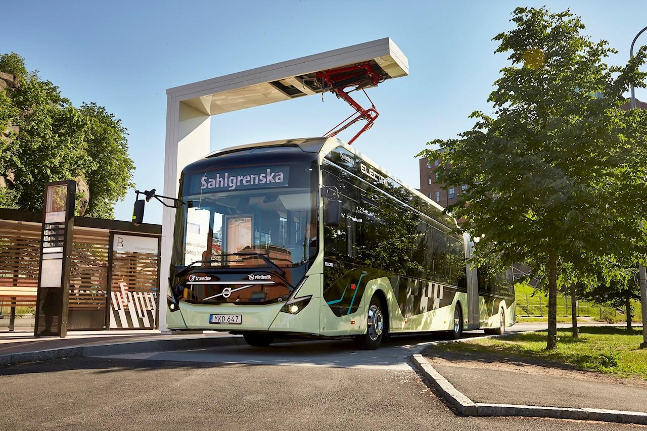 Volvo e-bus
