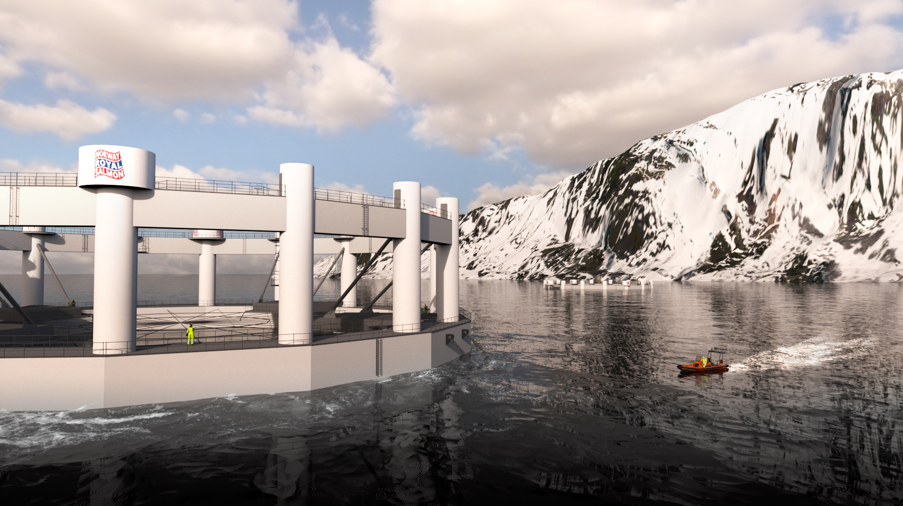 ABB enables first remote-controlled submersible fish farm in