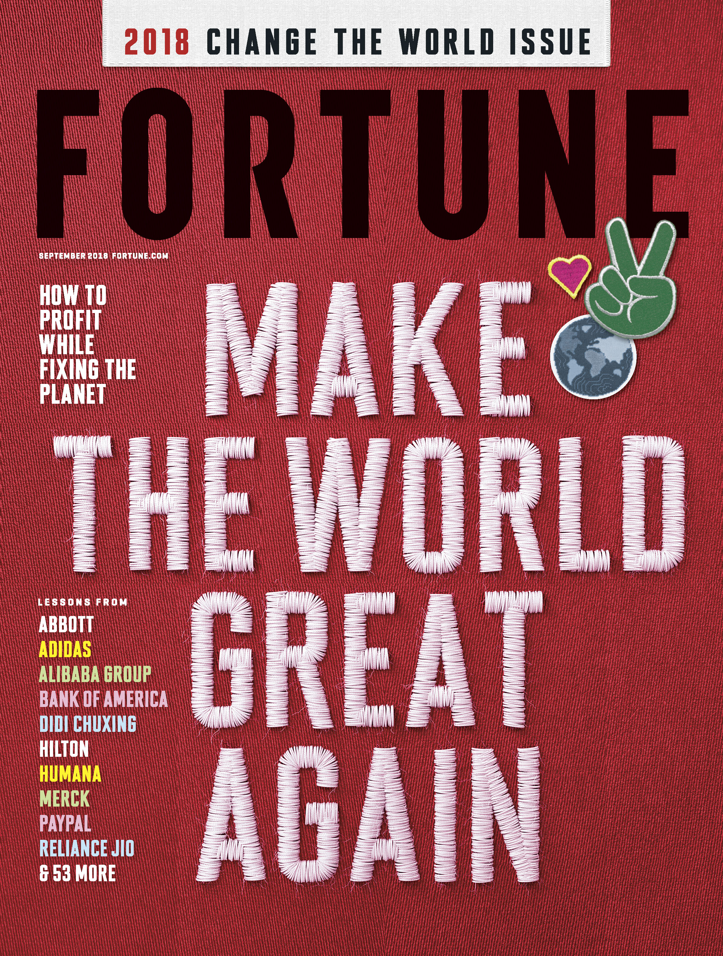 """Fortune Names ABB among Top 10 Companies in """"Change the World"""" List"""