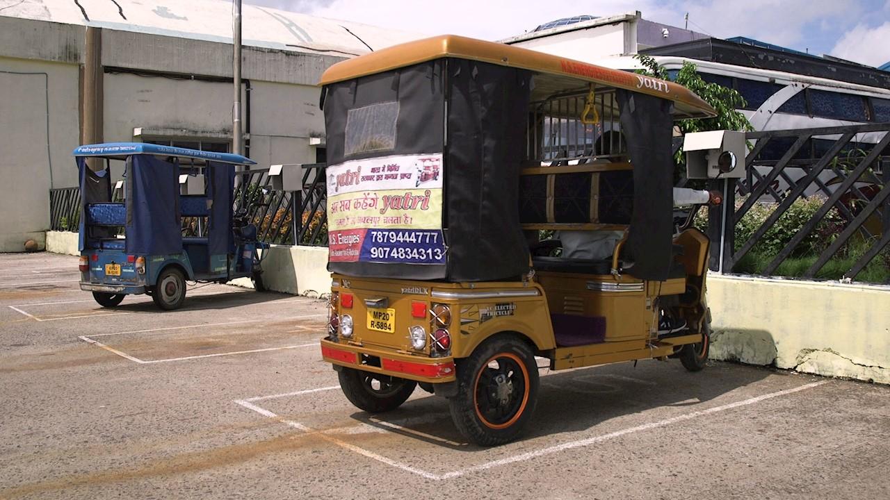 The e-rickshaw