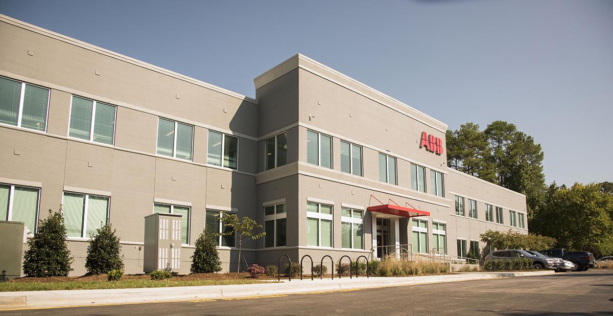 ABB America headquarters in Cary, North Carolina