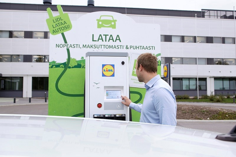 Lidl adopts ABB fast charging technology across Finland