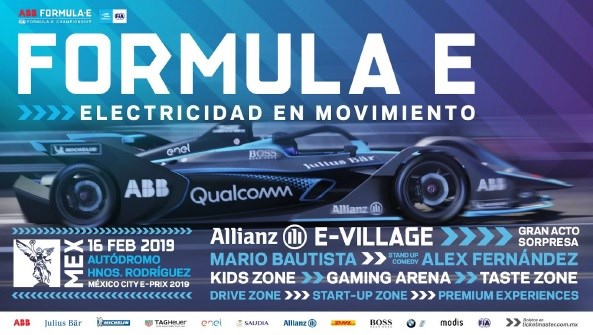 Anuncio Oficial del ABB FIA Formula E: E Prix de México 2019
