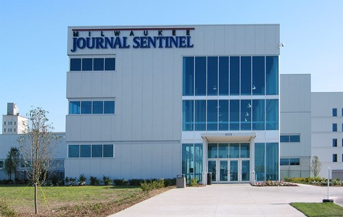 The print center of the Milwaukee Journal Sentinel