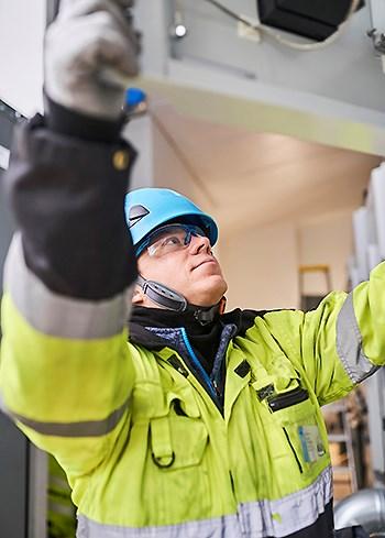 ABB:llä turvallisuuskulttuuri on viety korkealle tasolle vuosien pitkäjänteisellä työllä.