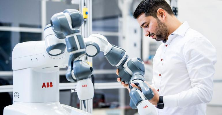 YuMi the world's first truly collaborative robot