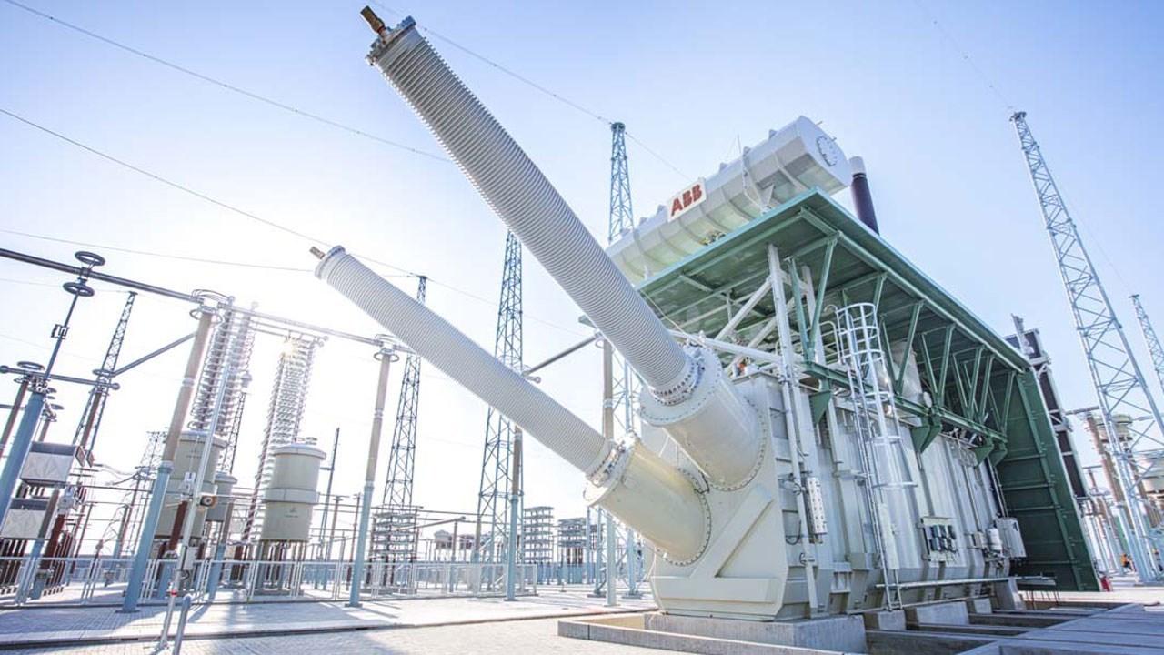 ABB变压器助力中国输电项目创造新的世界记录