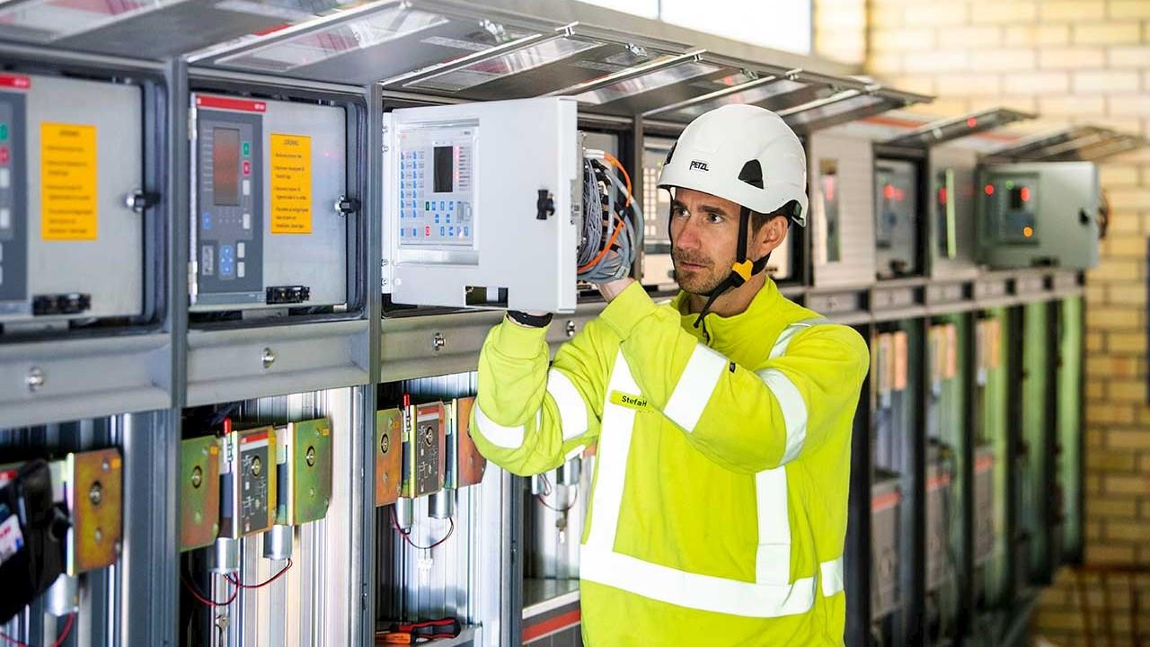 Smart digital uppgradering förlänger livet på Boo Energis station Koldalen