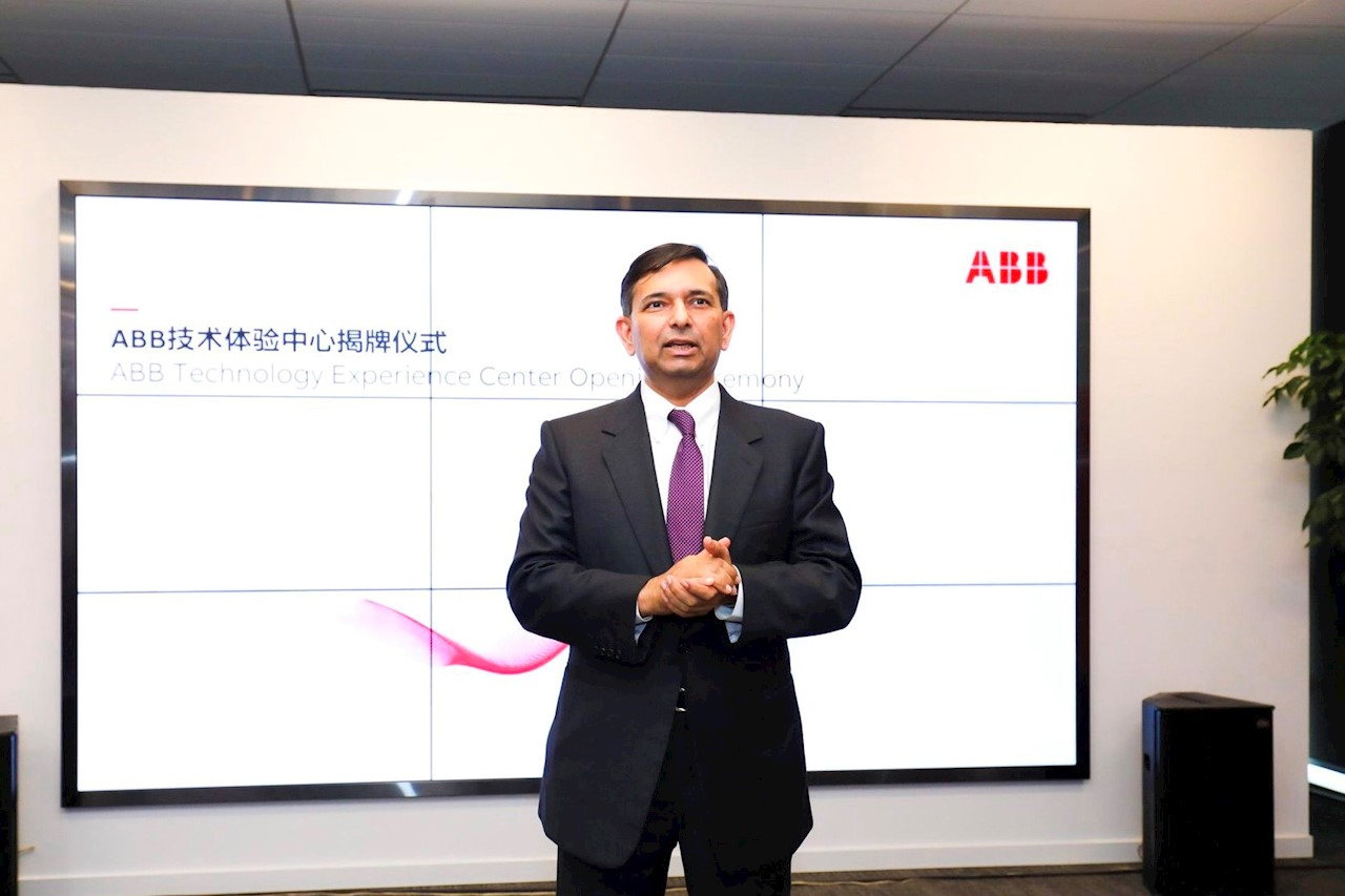 Tarak Mehta, president of ABB's Electrification Products division