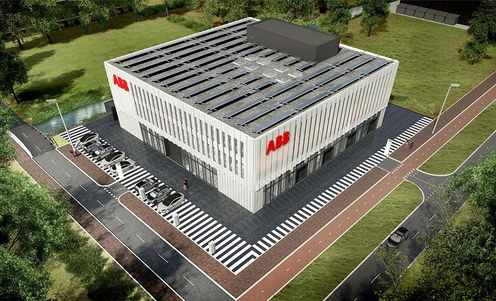 Senteret bygges med solceller på taket og tilkobling av fjernvarme/fjernkjøling for 100 prosent bærekraft