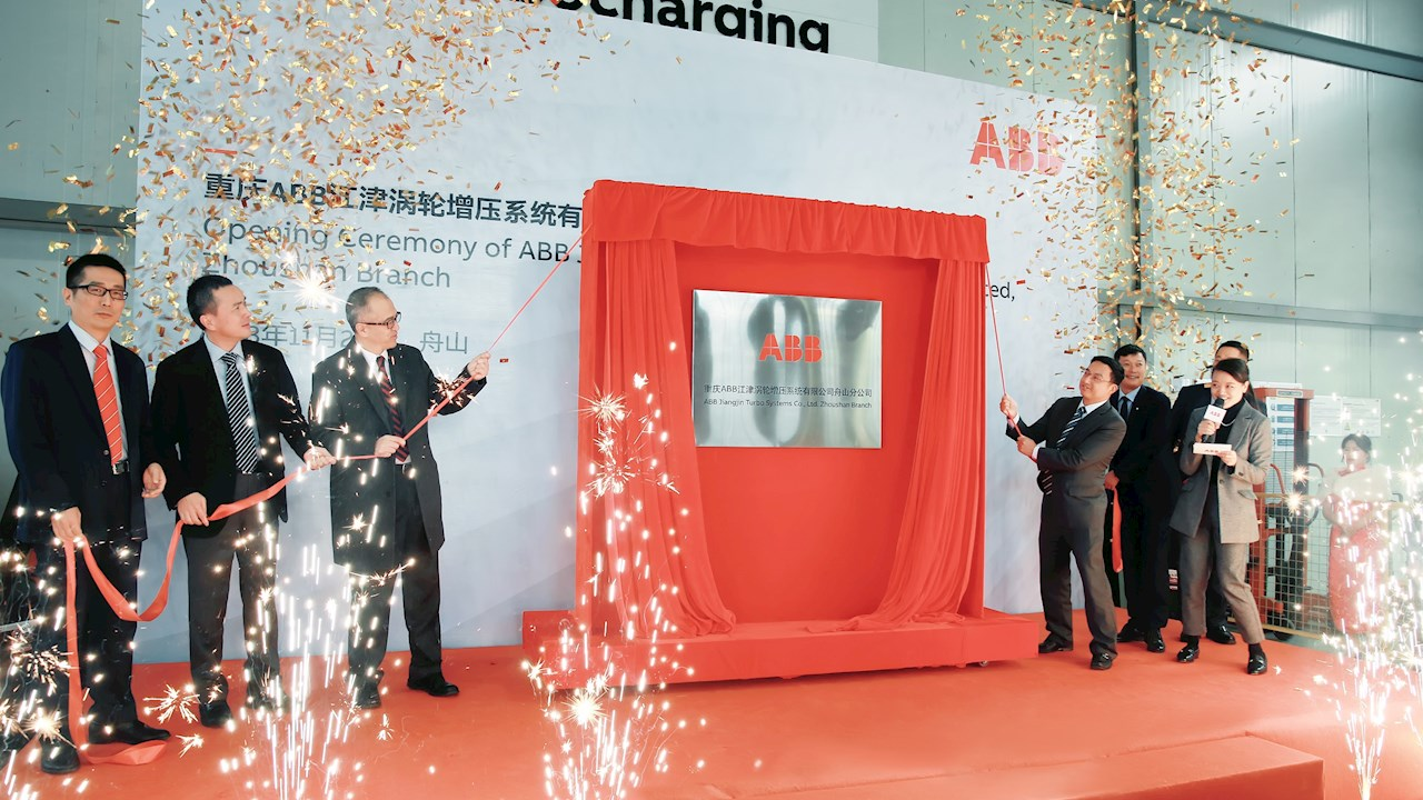 ABB extends its service network in Zhoushan, China