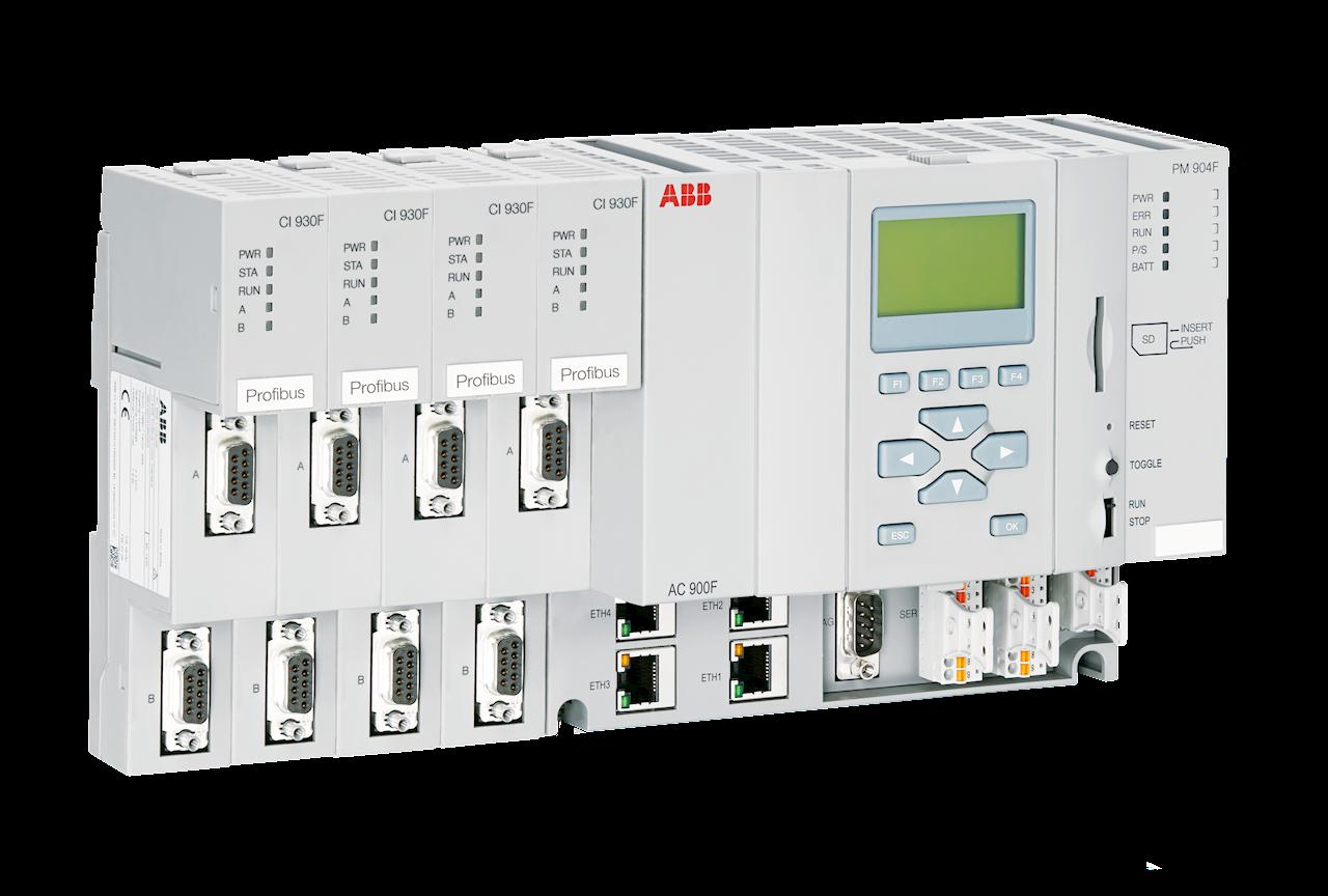 Neue Steuerung PM 904F erweitert die Freelance Controllerfamilie AC 900F