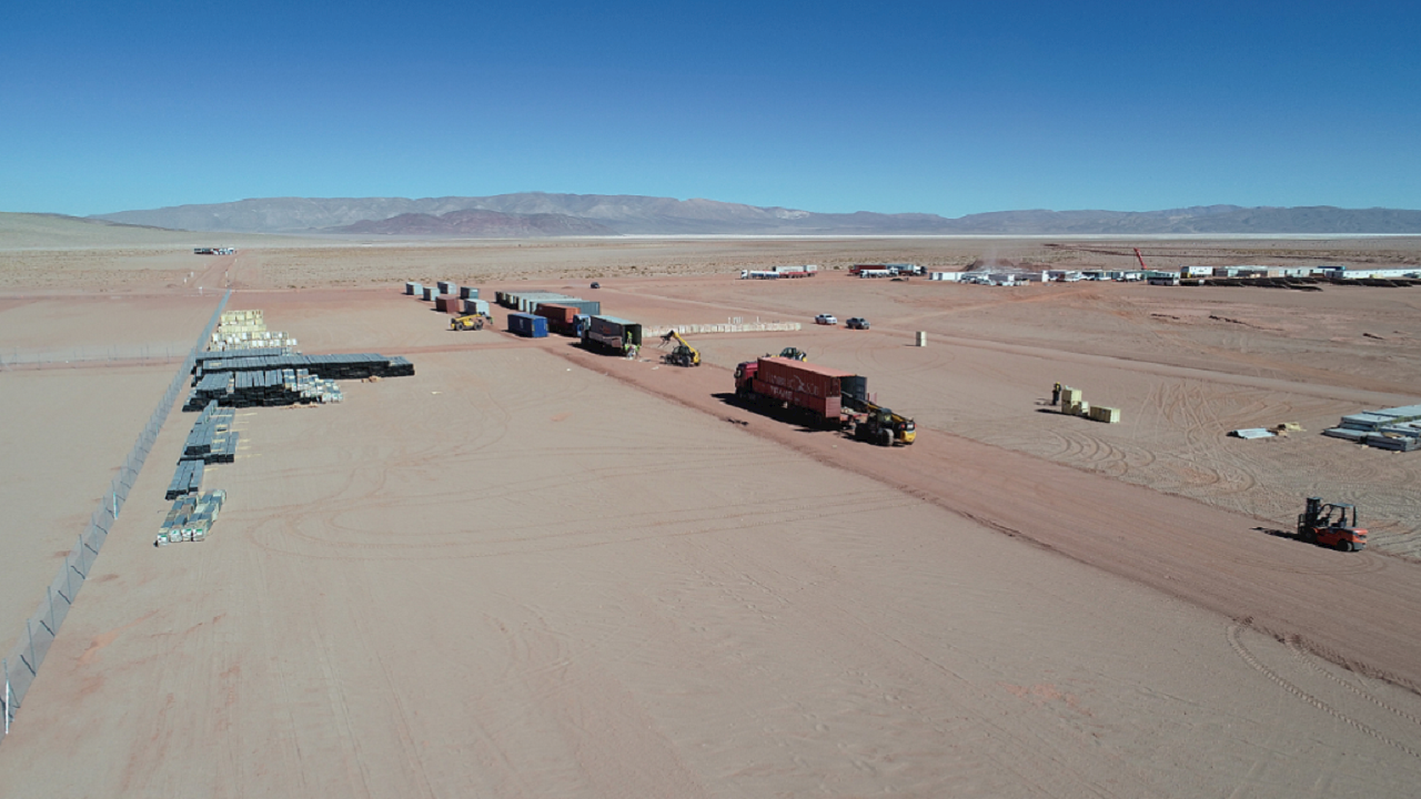 ABB provides Compact Secondary Substations for the high-altitude Argentina Cauchari 300MW photovoltaic project