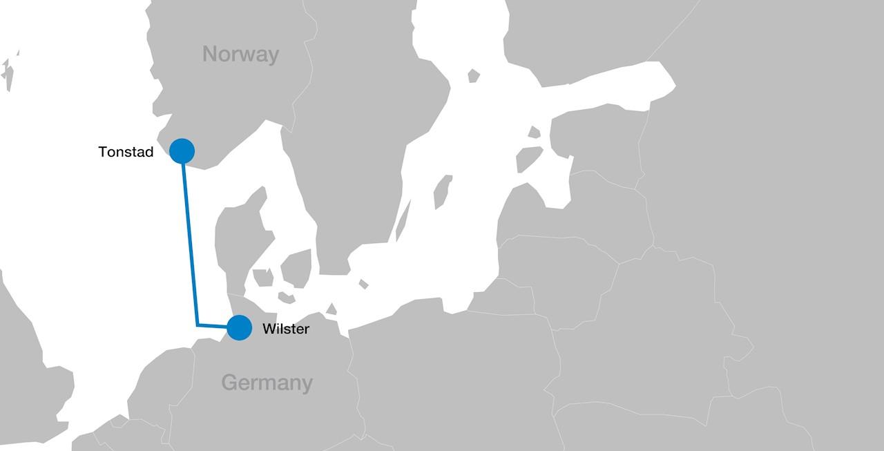 NordLink map (to enlarge scroll over image)