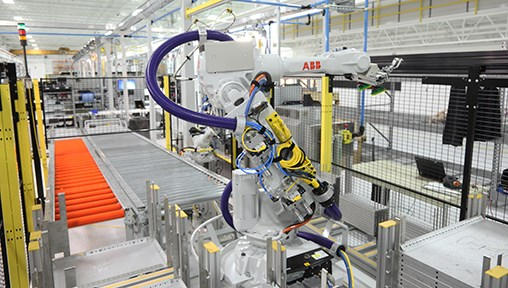 ABB – first global industrial robotics company to