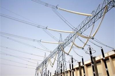 Outside view of similar 400 kV GIS installation