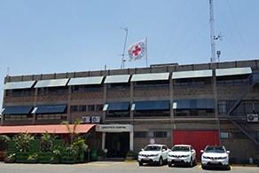 ICRC logistic hub in Nairobi (©ICRC)