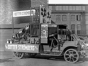 Strömberg first car