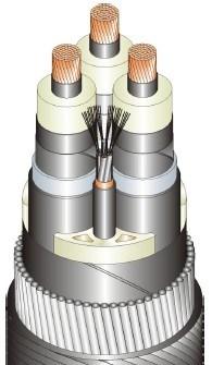 3 core cable design - CU conductor