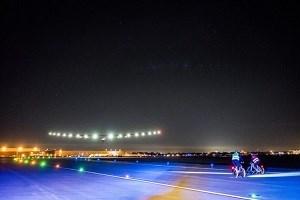 Solar Impulse lands in Seville, Spain on June 23, 2016