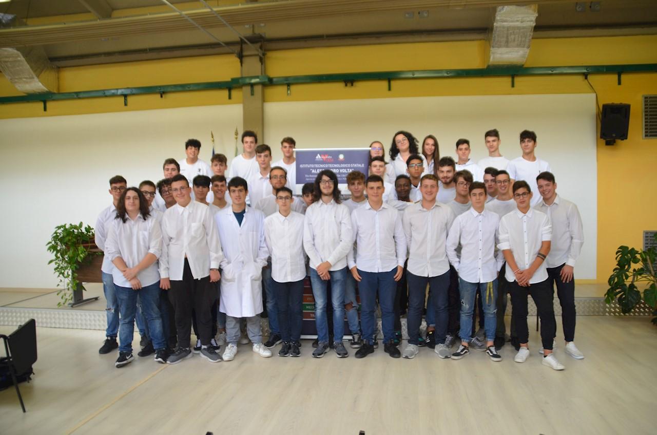 Il team SvoltaMo dell'ITIS Alessandro Volta di Perugia