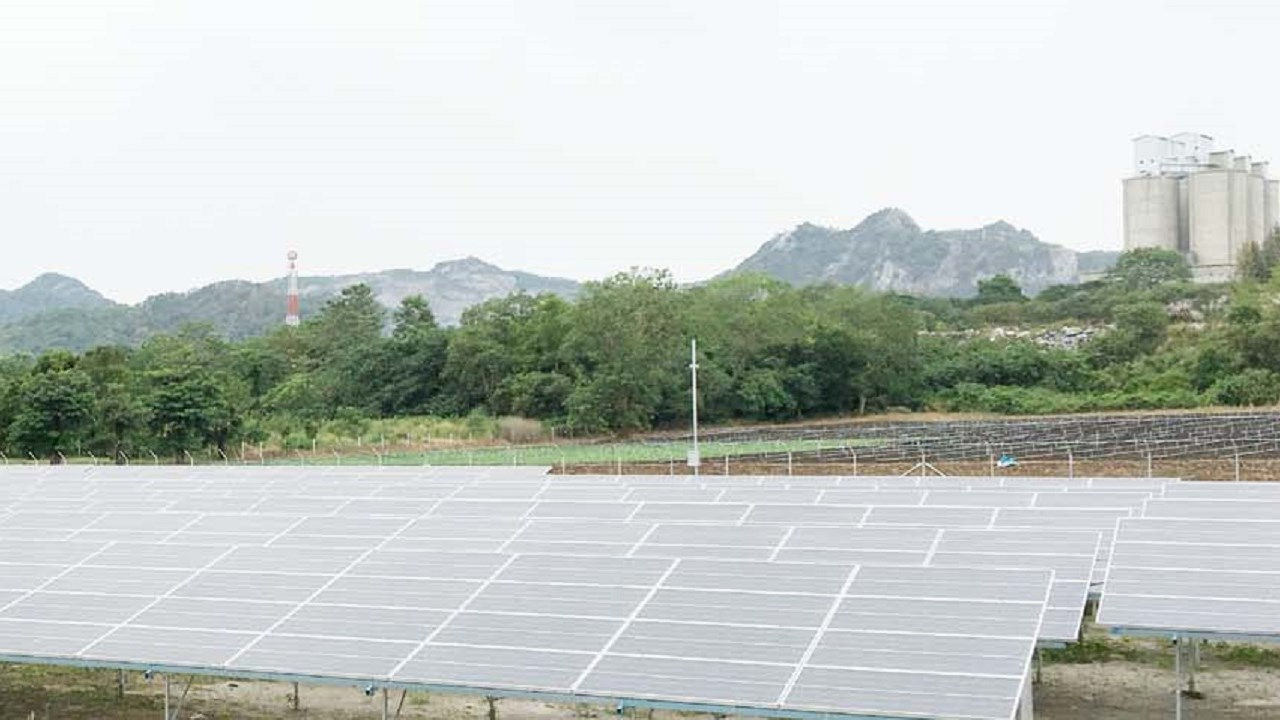 ABB technology enables Siam Cement Group to harness the sun's energy