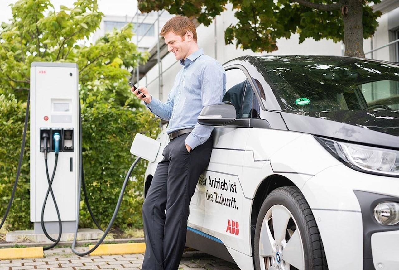 ABB ist der führende Anbieter von Ladestationen für Elektrofahrzeuge