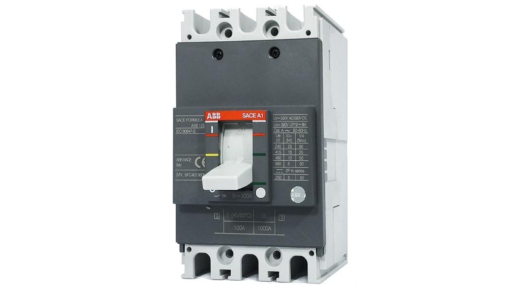 02 ABB A1 frame low-voltage molded-case circuit breaker (conforms to IEC/EN 60947-2).
