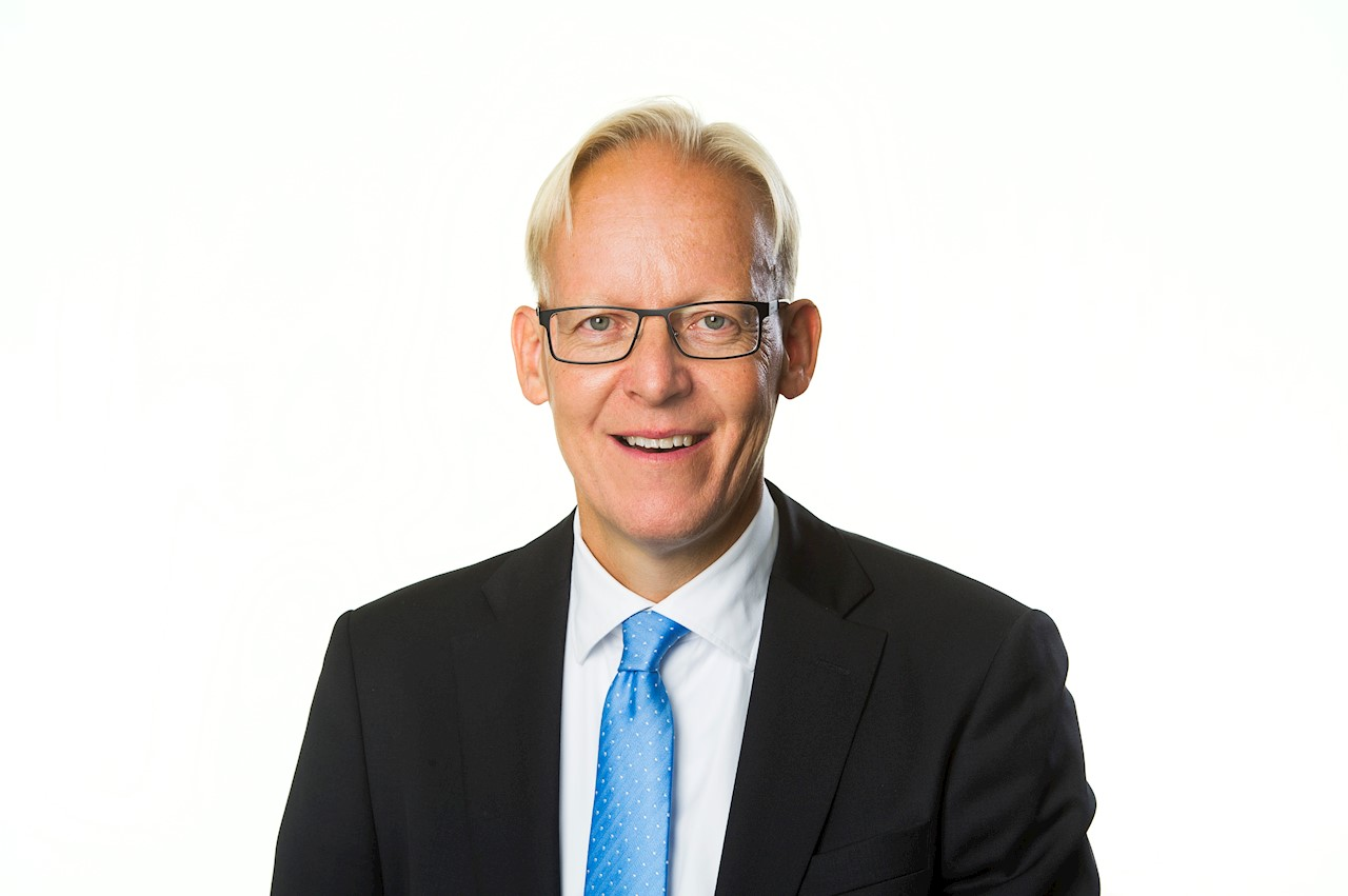 Johan Söderström, vd för ABB Sverige. Foto: Jonas Bilberg.
