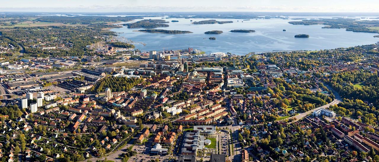 Västerås stad. Foto: Lennart Hyse.
