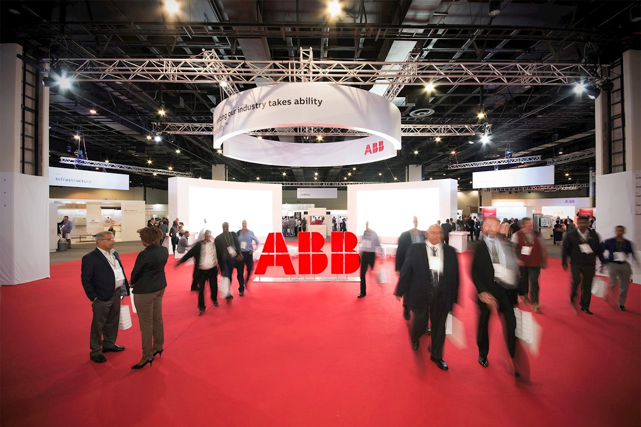 ABB's Customer World Africa event takes place in Johannesburg, South Africa, between April 10-11