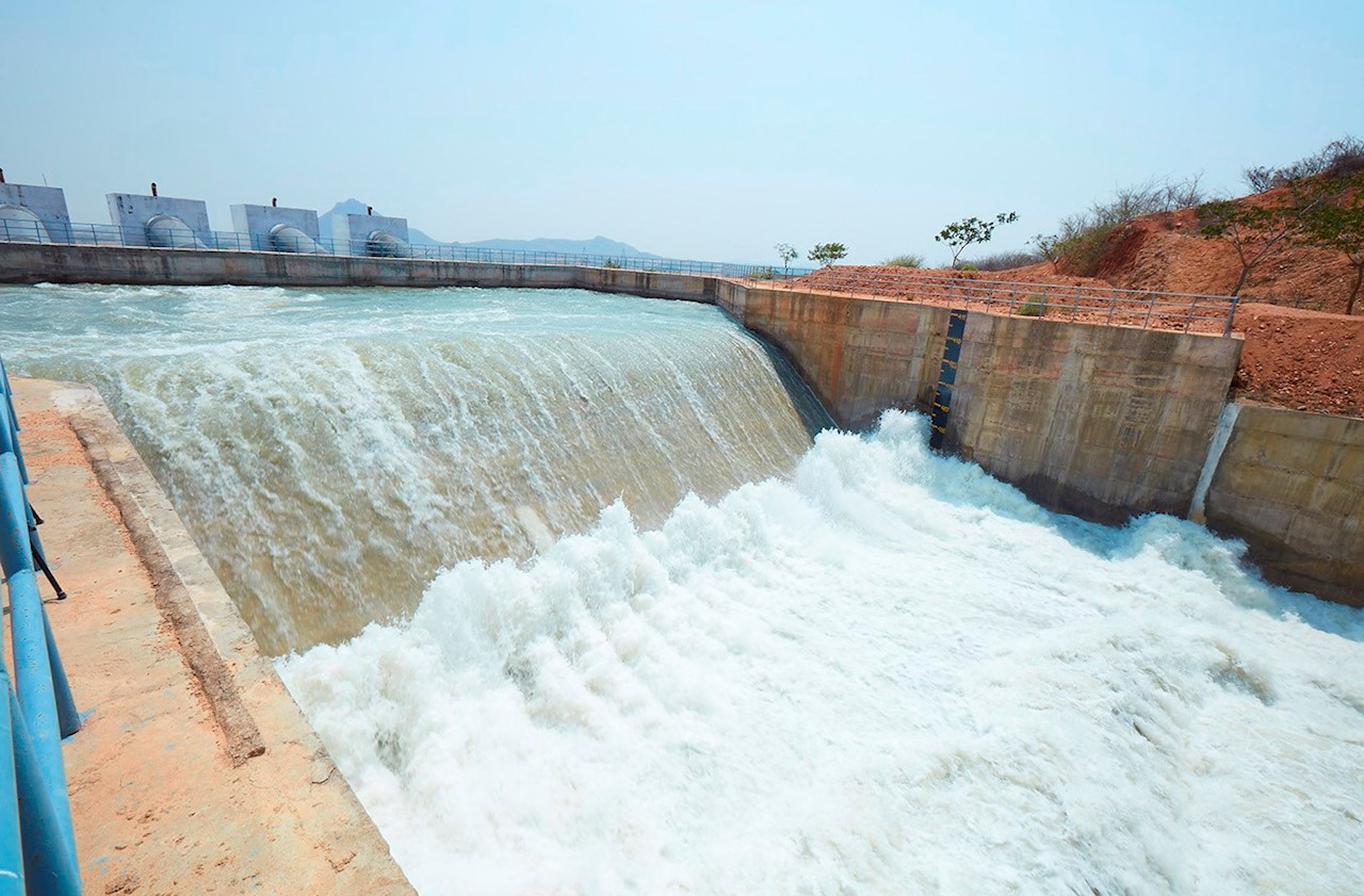 ABB pumping technology helps rescue parched farms and
