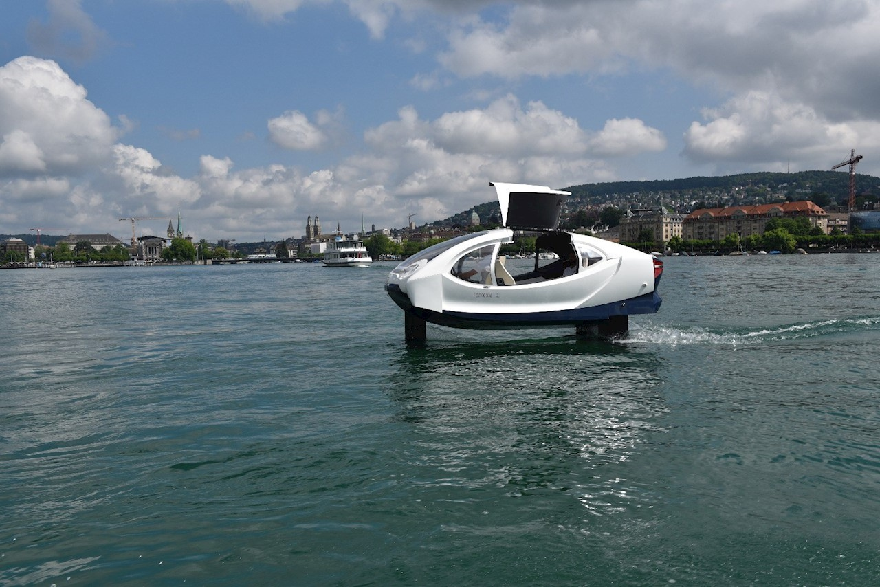 ABB brings innovative electric water taxi to Zurich