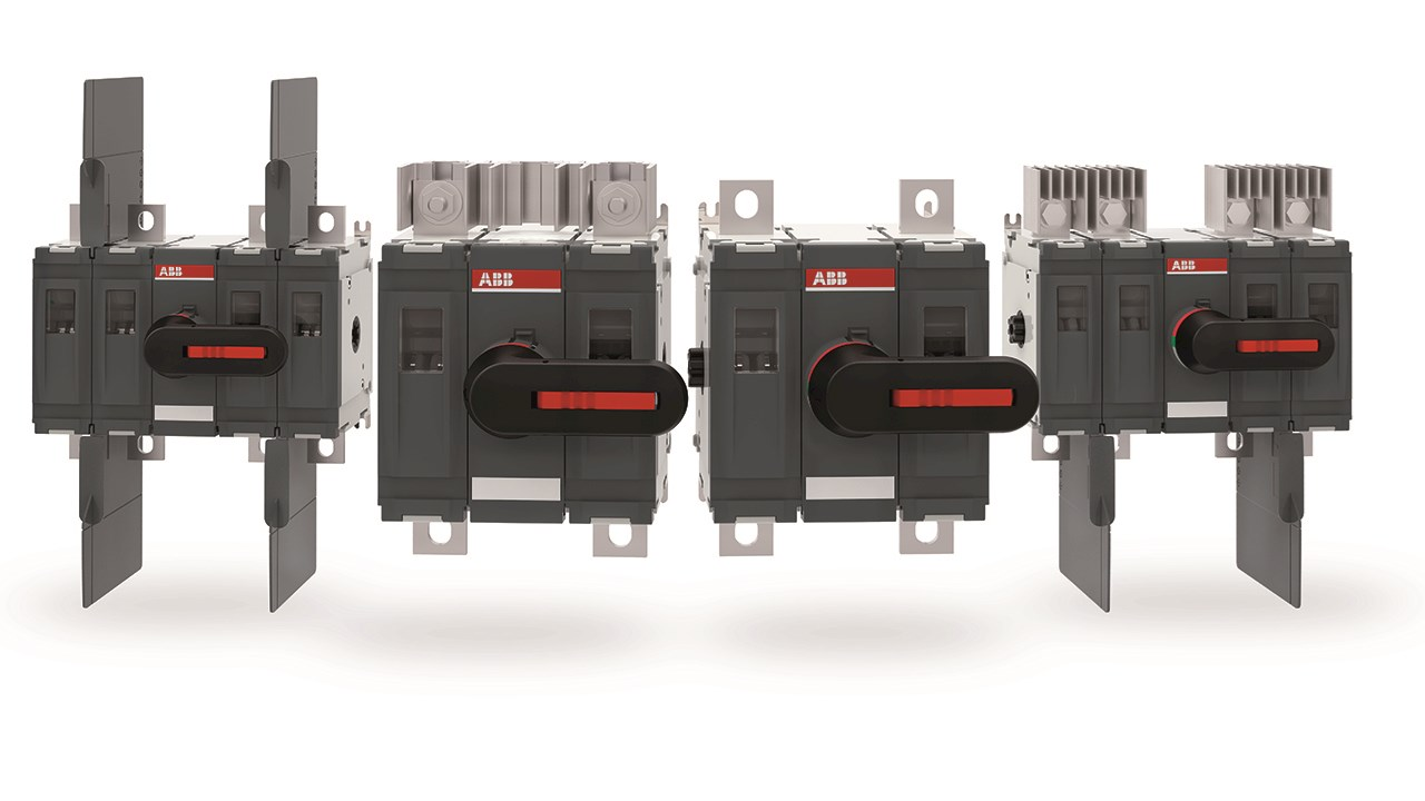ABB launches optimized two-pole 1500V DC switch for UL and IEC solar industry