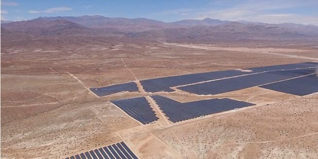 El Romero Solar Plant in Chile's Atacama region (©Acciona)