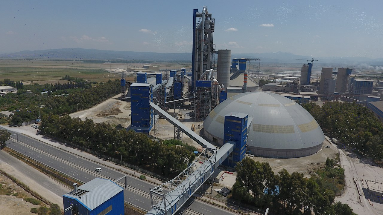 Turkish cement manufacturer is one of the first companies in the