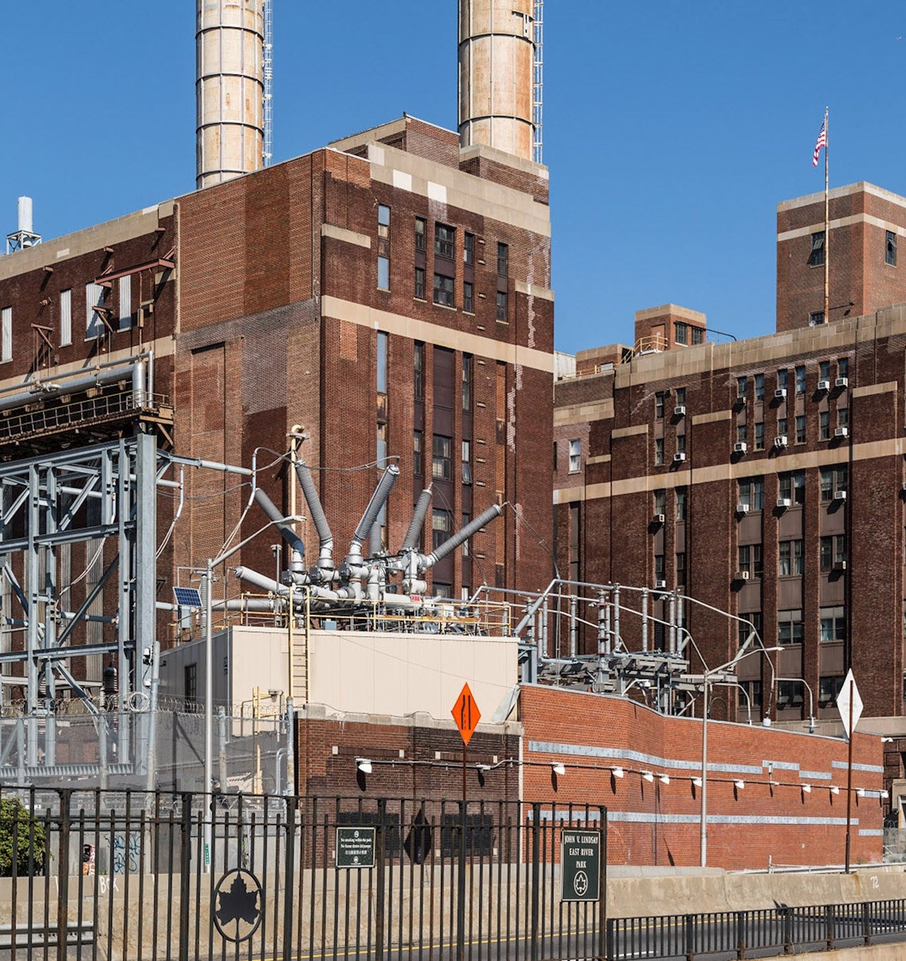 Newly upgrades Con Edison digital substation in Lower Manhattan.