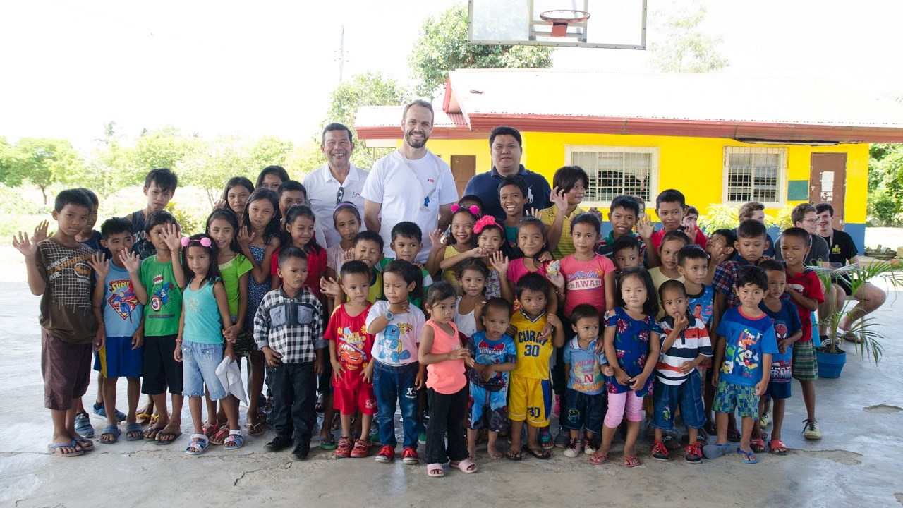 ABB continues to rebuild lives at its Global Village in Negros province
