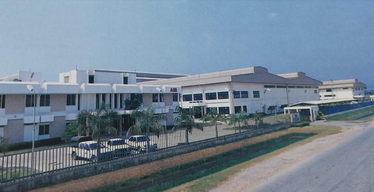 ABB factory at Bangpoo Industrial Estate, Samut Prakan province