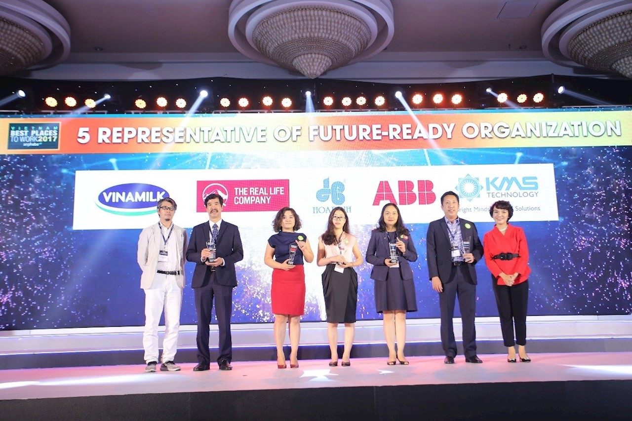 ABB recognized as one of Vietnam's 'Future Ready Organizations'