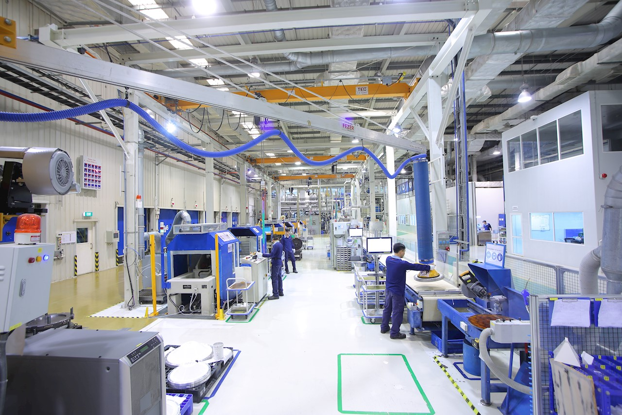 ABB high voltage factory - the ABB digital factory in the future