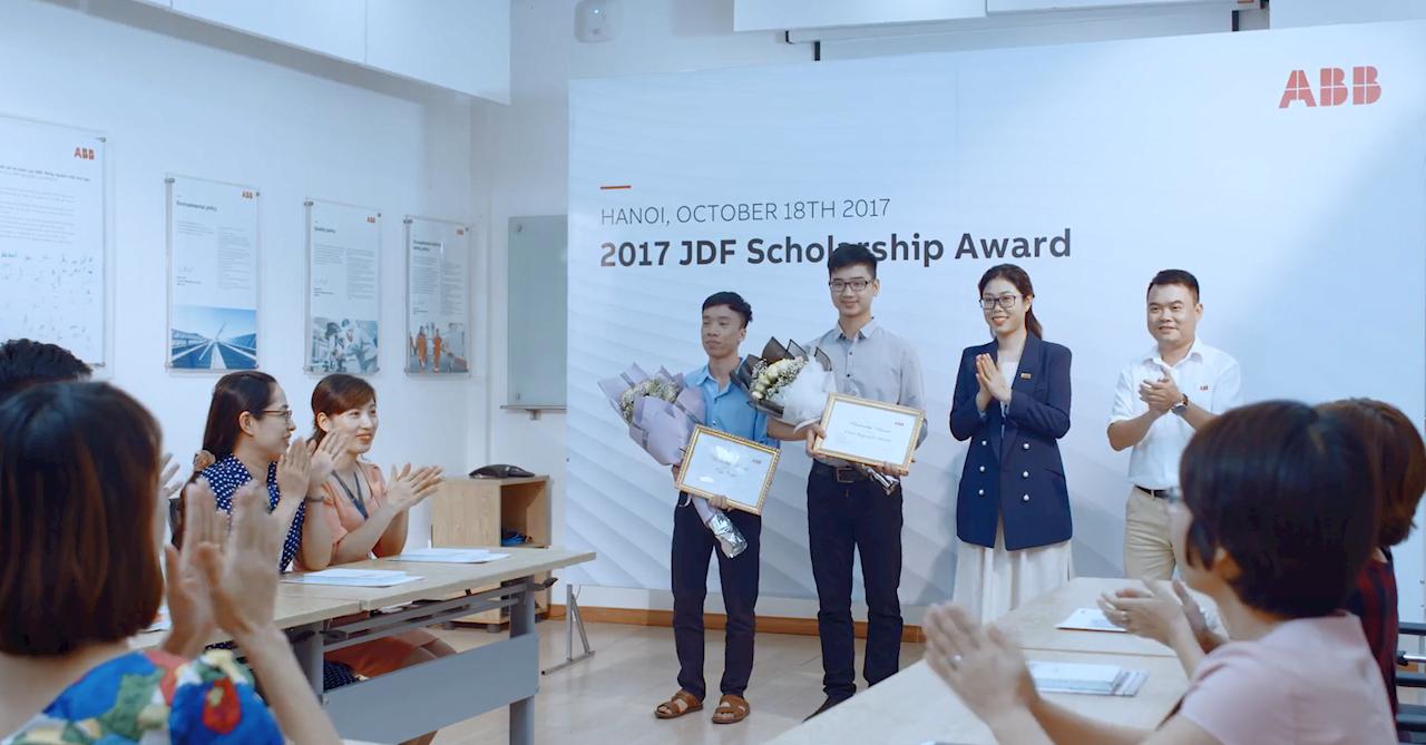 Jürgen Dormann Foundation (JDF) Scholarship Award 2017