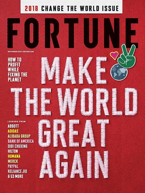 Das Cover der aktuellen Fortune Ausgabe: