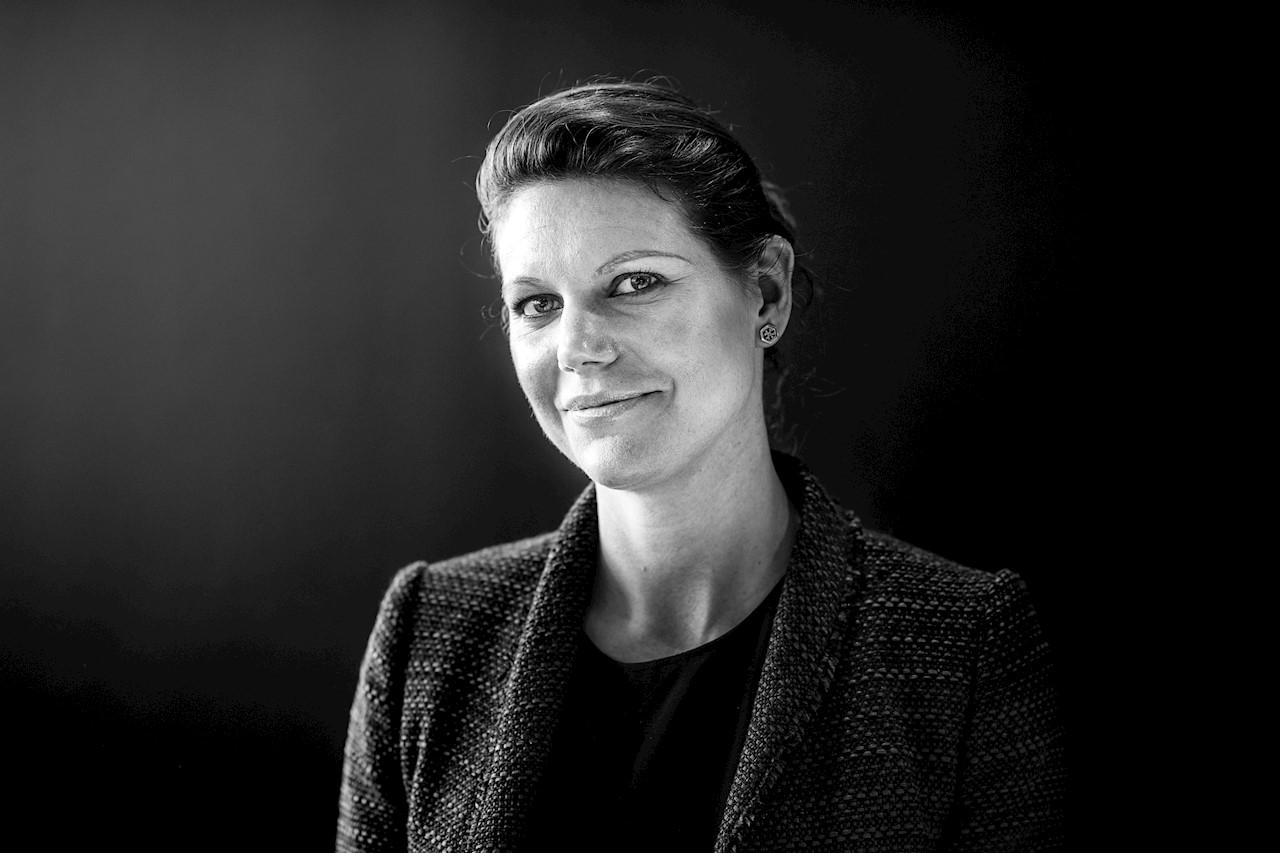 Malin Carlström är chef i norra Europa för ABB:s investeringsgren ABB Technology Ventures. Foto: Jonas Bilberg.