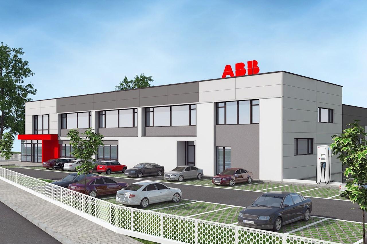 Визуализация на новата производствена база в Петрич