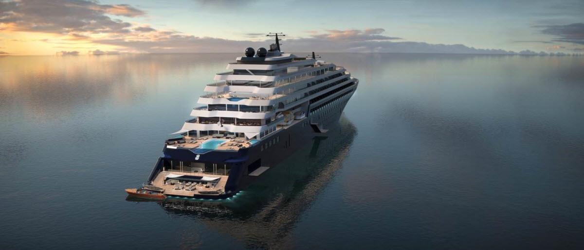 ABB leverer kraft- og fremdriftssystemer til Ritz Carlsons banebrytende mindre og mer luksuriøse cruiseskip (Foto: Ritz Carlton)