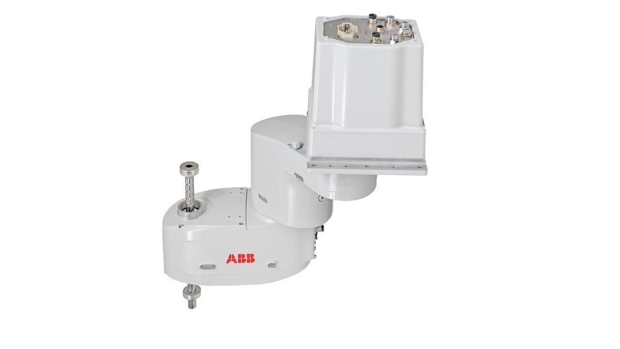 Naujasis ABB ant lubų montuojamas SCARA robotas užtikrina maksimalų lankstumą