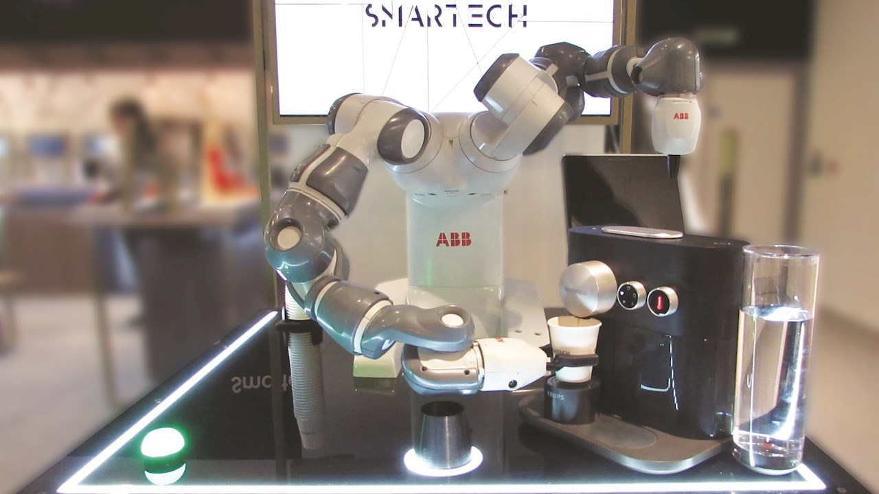 ABB's YuMi® comes to Smartech Selfridges to show what's in store for the future
