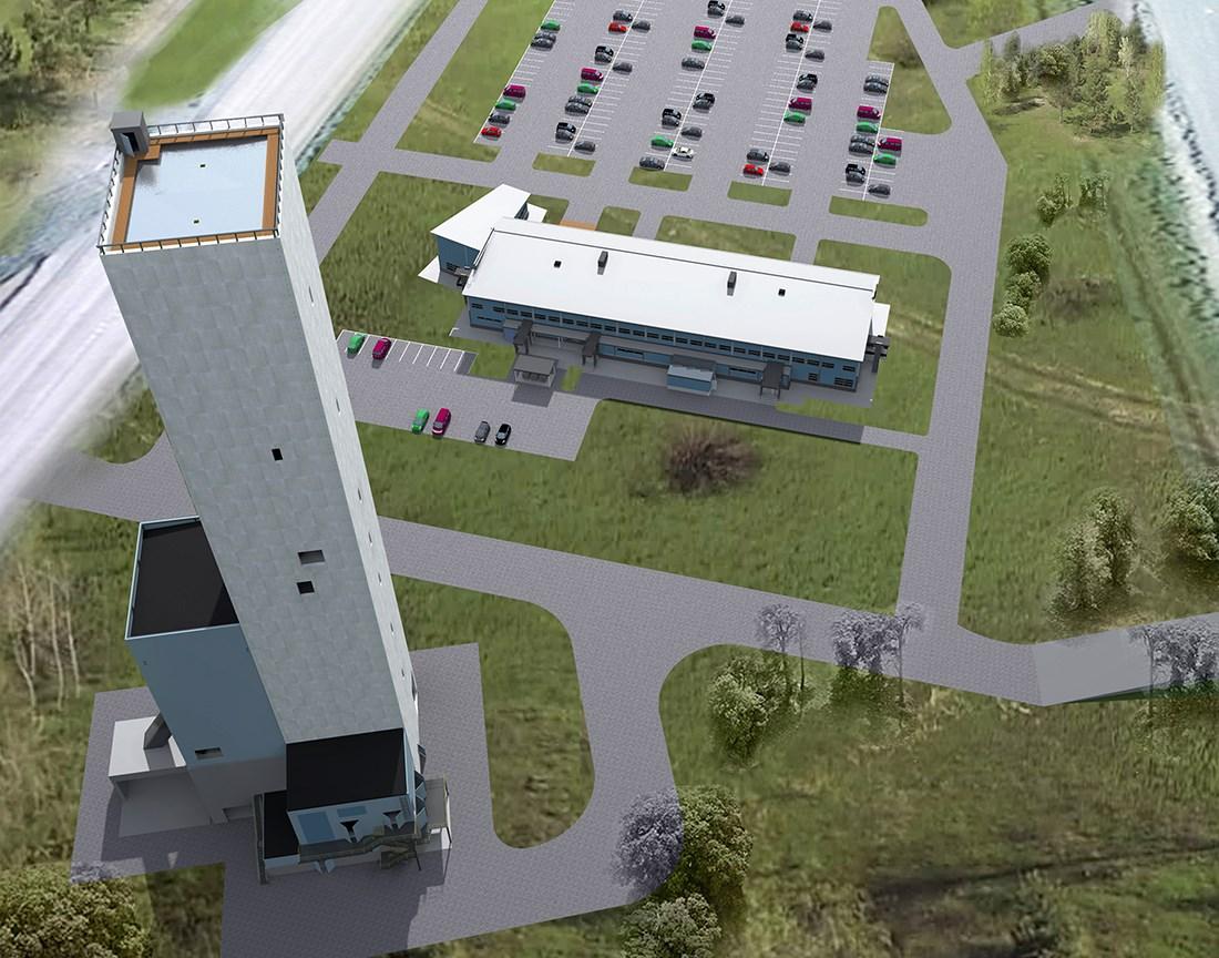 Agnico Eagle Finland Oy on käynnistänyt keväällä 2018 noin 160 miljoonan euron laajennusinvestoinnin Kittilän kultakaivoksella. Kaivokseen rakennetaan yli kilometrin syvyinen kaivoskuilu, josta malmi nostetaan ABB:n toimittamalla nostokoneella. Kuva: Agnico Eagle Finland Oy