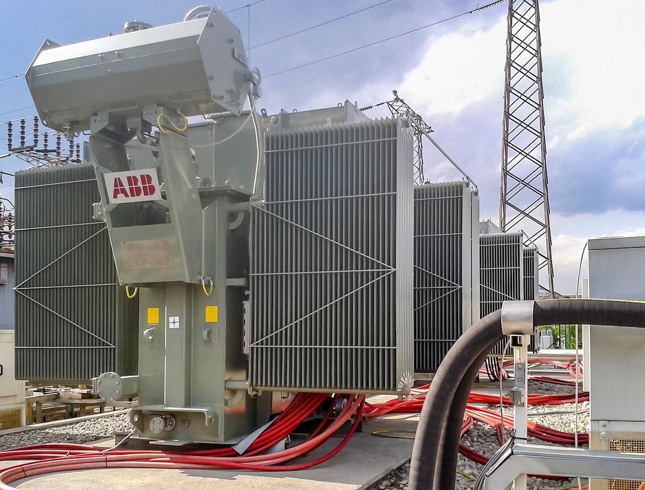 Transformateur 12 impulsions de 8 MW